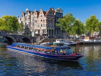 Amsterdam: Grachtenfahrt durch die Stadt