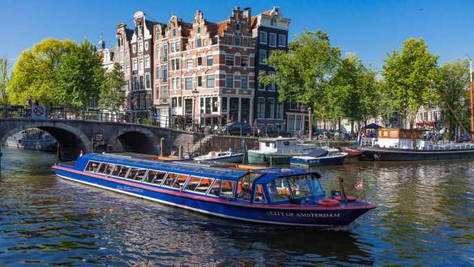 Ámsterdam: crucero por los canales de la ciudad