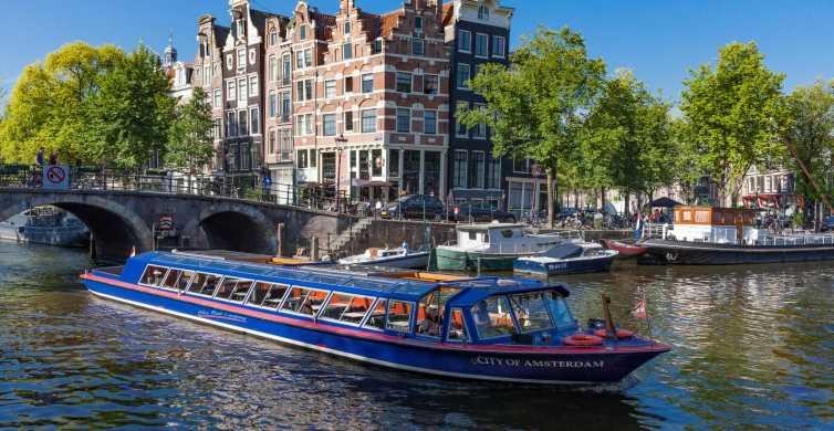 Amsterdam: City Canal Cruise