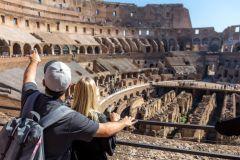 Excursão Coliseu, Monte Palatino e Fórum Romano Sem Fila