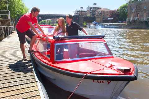 York: Self-Drive Red Boats