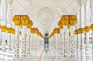 Ab Dubai: Scheich-Zayid-Moschee & Louvre Museum Abu Dhabi