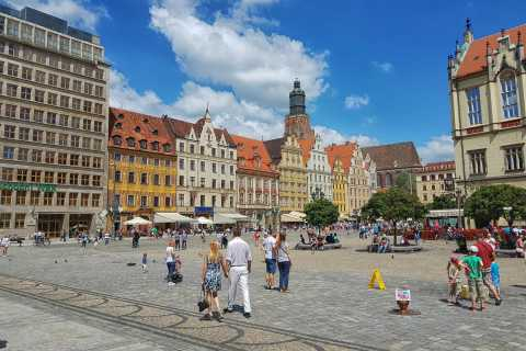 Wroclaw: Half-Day Old Town and Alternative City Tour