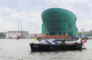 Amsterdam: 1,5 Stunden private Kanalfahrt mit Prosecco