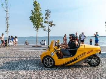 Lissabon: Selbstgeführte Stadt-Tour im GoCar mit GPS