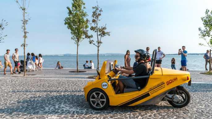Lisboa: exploración autoguiada en GoCar con GPS