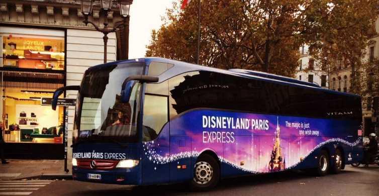 Disneyland Paris Express Tickets and Shuttle Transport