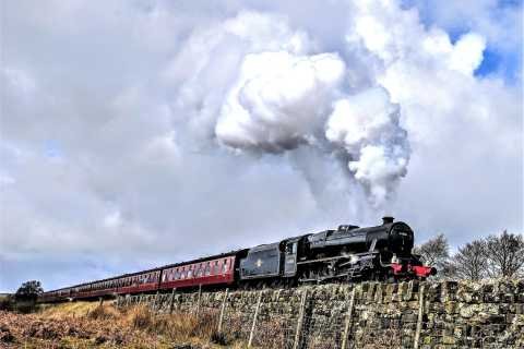 From York: Steam Train, Whitby, and North Yorkshire Moors