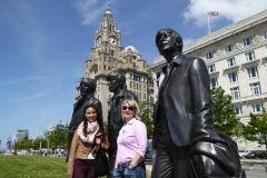 Liverpool: Beatles e Excursão a Pé na Cidade