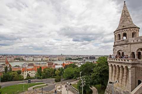 Budapest: Castle District Walk with Café Stop