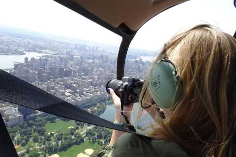 New York City: Fotografie-Helikopter-Flug