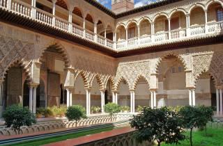 Ohne Anstehen: Alcázar von Sevilla