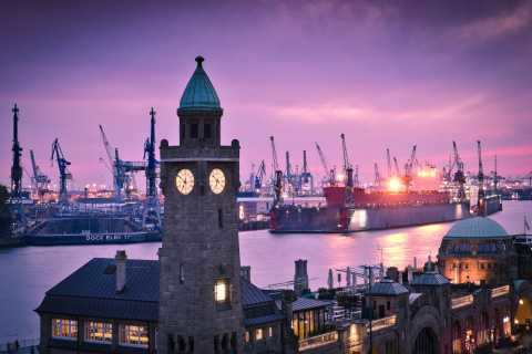Hamburgo: St Pauli y Harbour Evening Walk