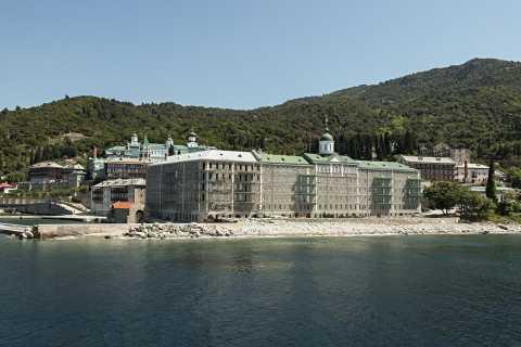 Thessaloniki: el lugar de nacimiento de Aristóteles y el monte. Crucero de Athos