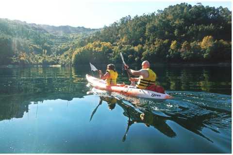 Peneda-Gerês National Park: Kayak & Waterfall Trek w/ Lunch