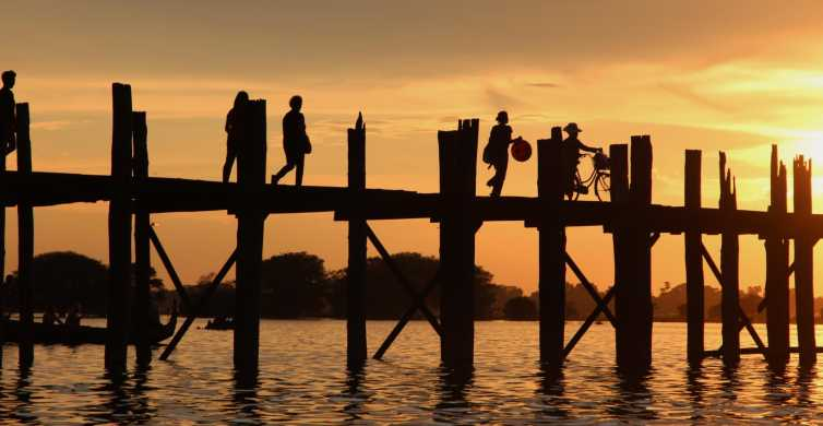 Ava & U Bein Bridge Sunset Bike Tour