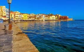 From Rethymno: Chania & Falasarna Beach Small Group Tour