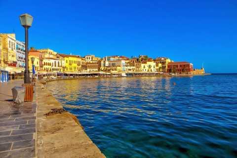 From Rethymno: Chania & Falasarna Beach Small Group Tour