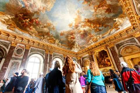Versailles with Audio Guide from Paris by Minibus