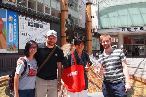 Nara: Big Buddha, Bambi and Backstreets Cultural Tour