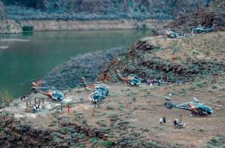 Grand Canyon: Helikopterrundflug & Zwischenlandung im Canyon
