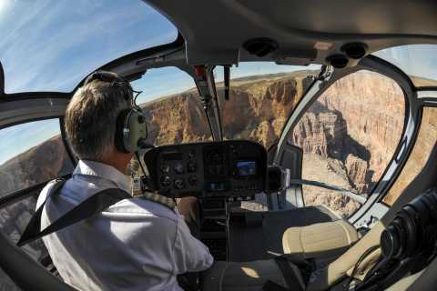 From South Rim: Grand Canyon Spirit Helicopter Tour
