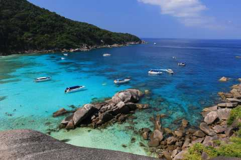 From Khao Lak: Full-Day Snorkeling in the Similan Islands