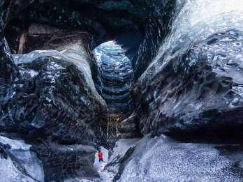 Ab Reykjavík / Vik: Katla-Eishöhle und Super Jeep Tour