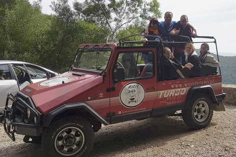 Sintra: Portuguese Beaches and Colares Private Jeep Tour