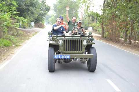 Cu Chi Tunnels by Restored Army Jeep & Lunch Option