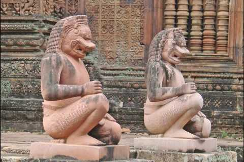 Banteay Srei, Pre Rup & Ta Prohm Temples Private Guided Tour