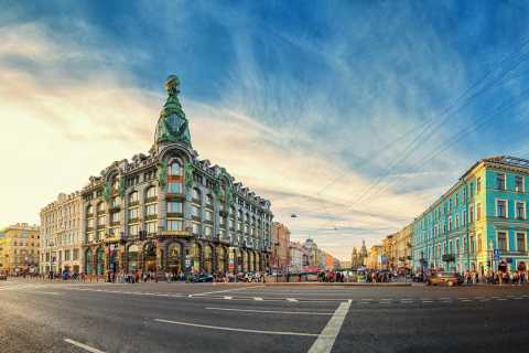 Saint Petersburg: City Sightseeing Walking Tour