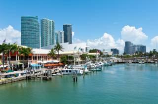 Miami: Halbtägige Stadt- und Bootsfahrt mit Hotelabholung