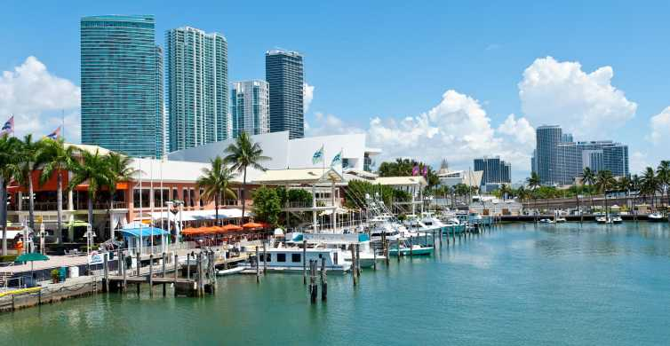 Miami: Half-Day City and Boat Tour with Hotel Pick Up