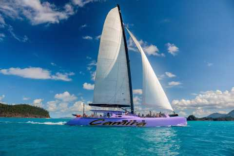 Whitsundays Full-Day Catamaran Sailing Adventure from Airlie