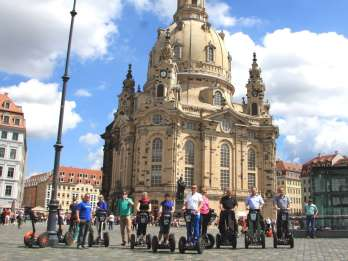 Dresden: Segway-Tour entlang der Elbe und in der Altstadt
