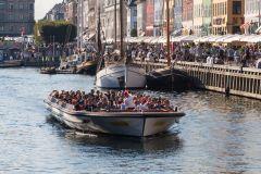 Copenhague: Cruzeiro Canais saindo de Ved Stranden ou Nyhavn