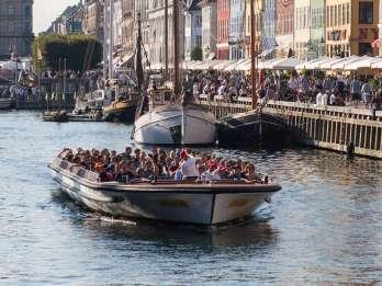 Kopenhagen: Kanalrundfahrt ab Ved Stranden oder Nyhavn. Foto: GetYourGuide