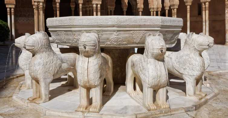 From Seville: Granada and Alhambra Full-Day Tour with Ticket