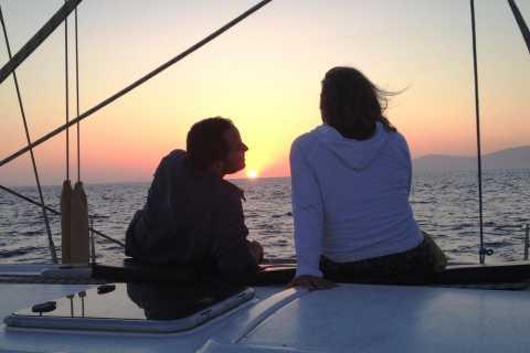 Mykonos: crociera al tramonto e aperitivo solo per adulti