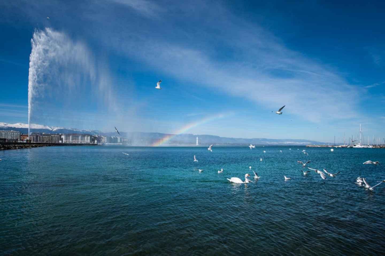 Stadtführung durch Genf mit Bootsfahrt