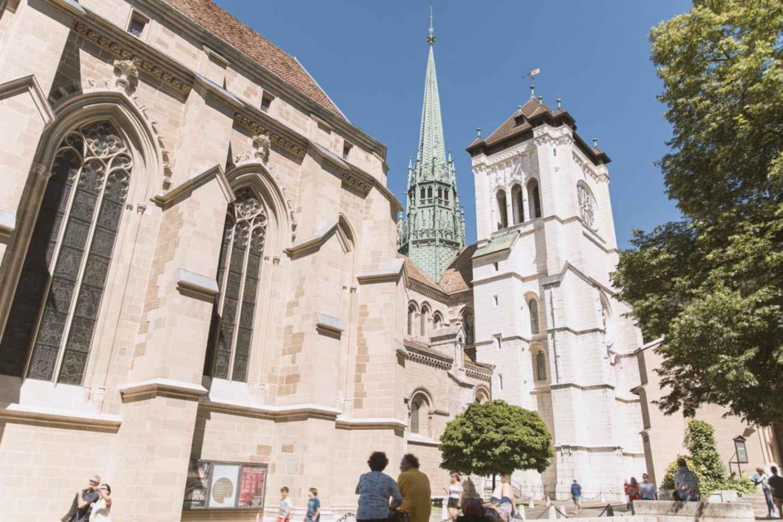 Stadtrundfahrt durch Genf und mittelalterliches Dorf von Yvoire