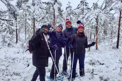 Caminata con raquetas de nieve en Trakai desde Vilnius