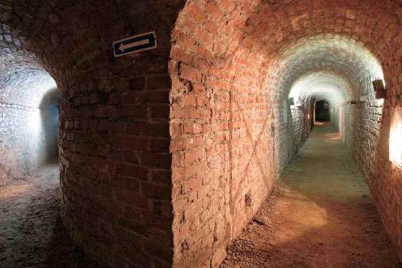 Turin: Unterirdische Besichtigungstour am Abend