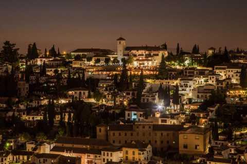 Granada: Albaicín med Sacromonte på privat kvällsrundtur