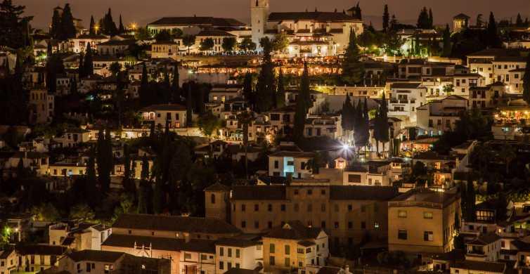 Granada: Albaicin and Sacromonte Private Night Tour
