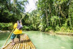 Martha Brae River Rafting de Montego Bay