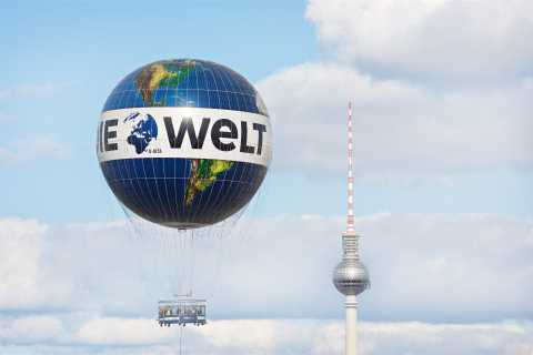 Berlin: Ticket for World Balloon with Perfect View