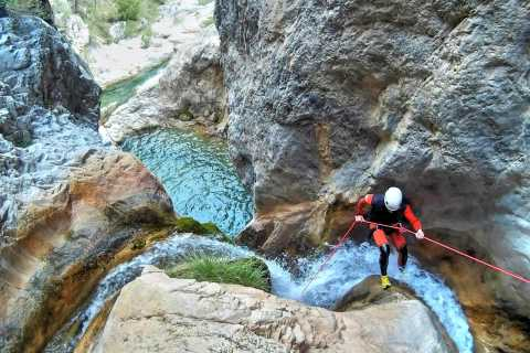 From Granada: Rio Verde Canyoning Tour