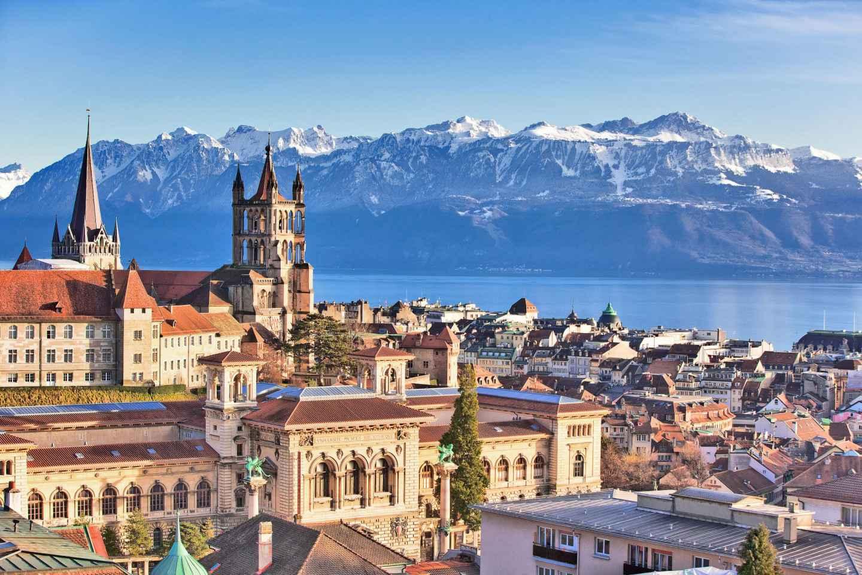 Busrundfahrt von Genf nach Lausanne